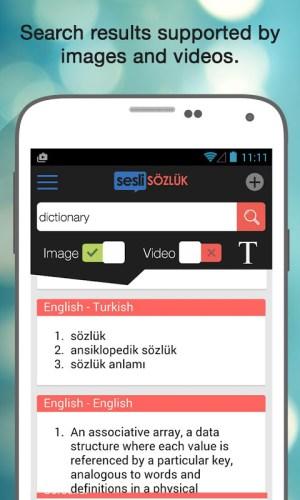 Android Sesli Sözlük Screen 5