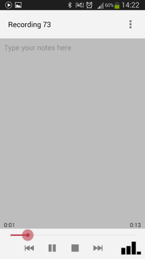 Voice Recorder 3.08 Screen 5