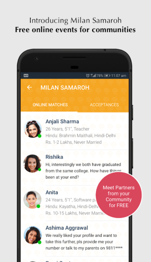 Android Jeevansathi.com Screen 7