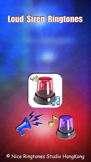 Loud Siren Ringtones FREE 1.4 Screen 5