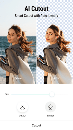 PickU - Cutout & Photo Editor 2.1.0 Screen 2