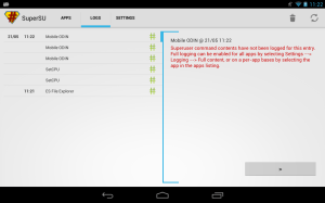 Android SuperSU Pro Screen 2