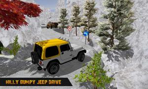 Android Offroad Jeep Driving Pro Master :uphill Jeep Drive Screen 2