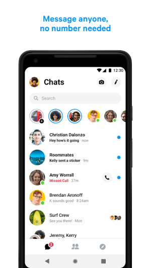 Messenger – Text and Video Chat for Free 217.0.0.1.91 Screen 7