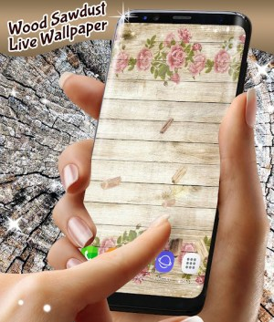 Wood Live Wallpaper ⭐ Sawdust Wallpapers 6.7.13 Screen 3