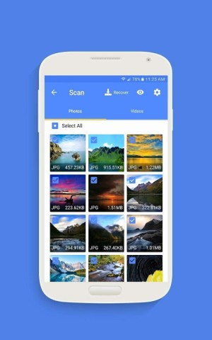 EaseUS MobiSaver - Recover Video, Photo & Contacts 3.2.3 Screen 2