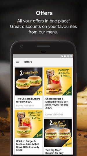 McDonald's 2.4.5 Screen 1