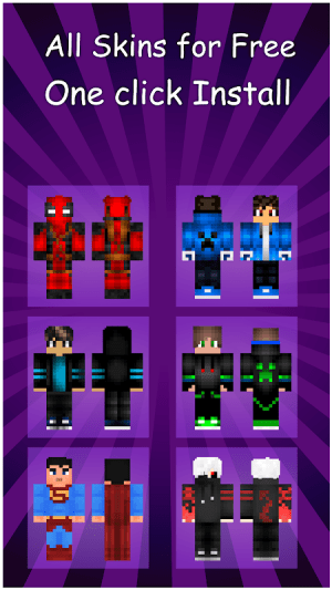 Boys Skins For Minecraft PE 1.0 Screen 2