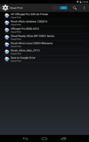 Cloud Print 0.9.8 Screen 6