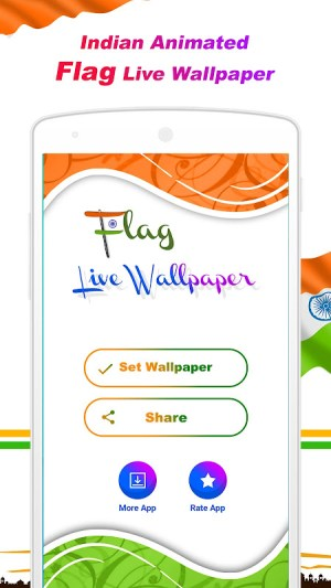 Android Indian Independence Day LWP Screen 3
