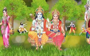 4D Shri Rama (श्री राम दरबार) Live Wallpaper 9.0 Screen 3