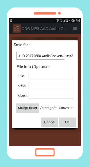 OGG MP3 AAC Audio Converter 3.3 Screen 3