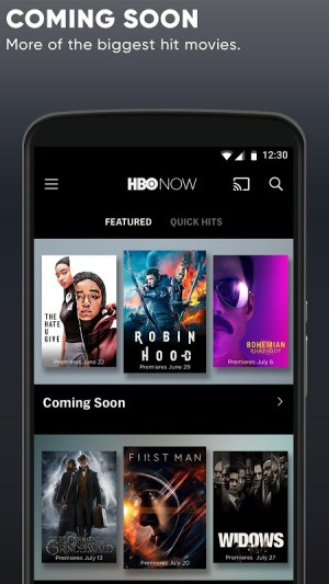 HBO NOW: Stream TV & Movies 22.0.0.540 Screen 9