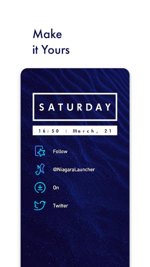 Niagara Launcher 🔹 fresh & clean 0.32.4 Screen 1