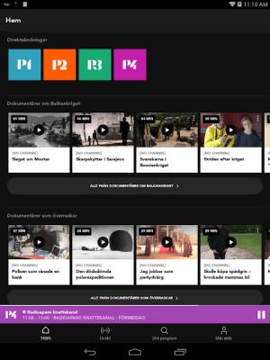 Sveriges Radio Play 20.1.2 Screen 5