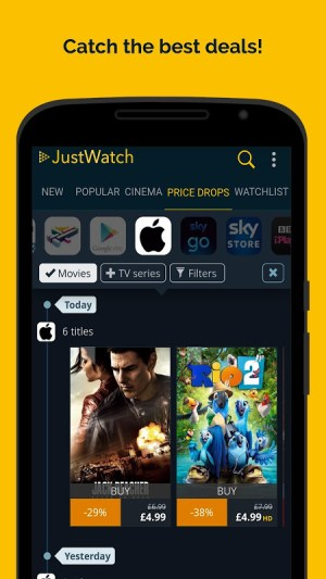 JustWatch - Search Engine for Streaming and Cinema 2.5.13 Screen 6