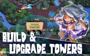 Crazy Defense Heroes: Tower Defense Strategy TD 1.8.1 Screen 1