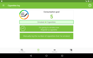 Stop Tobacco Mobile Trainer. Quit Smoking App Free 1.6 Screen 20
