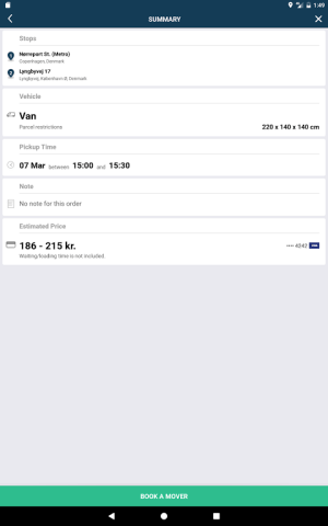Mover Transport 4.7.1 Screen 8