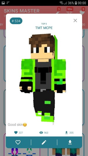 Android Skins MASTER for MINECRAFT (30 000 Skins) + Editor Screen 8