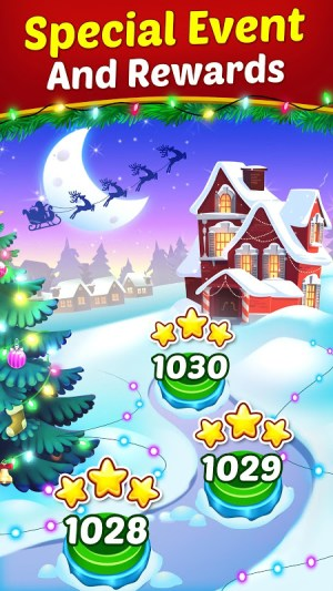Christmas Cookie - Santa Claus's Match 3 Adventure 3.1.0 Screen 12