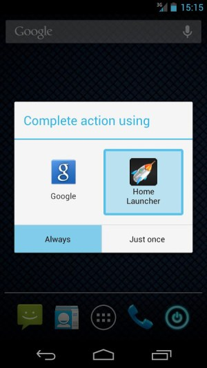 Home Button Launcher 8.2 Screen 2