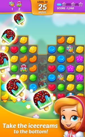 Lollipop: Sweet Taste Match 3 1.9.12 Screen 1