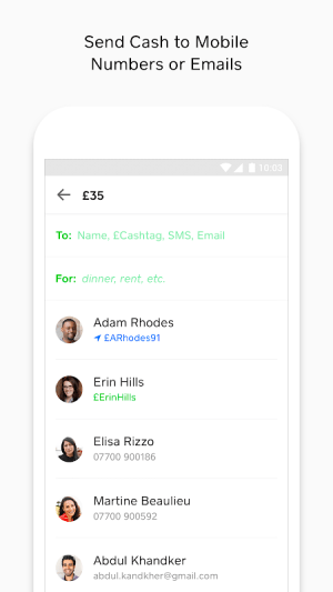 Cash App 2.26.4 Screen 1