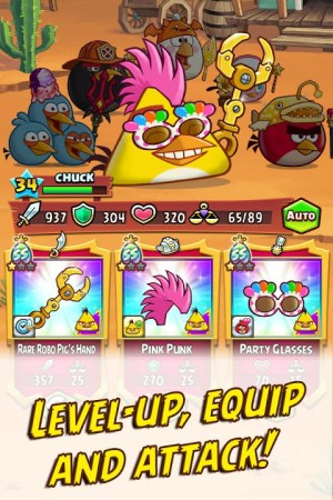 Angry Birds Fight! RPG Puzzle 2.5.6 Screen 3