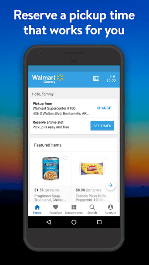 Walmart Grocery 5.2.0 Screen 4