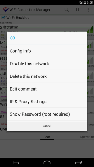 WiFi Connection Manager 1.7.0 Screen 5