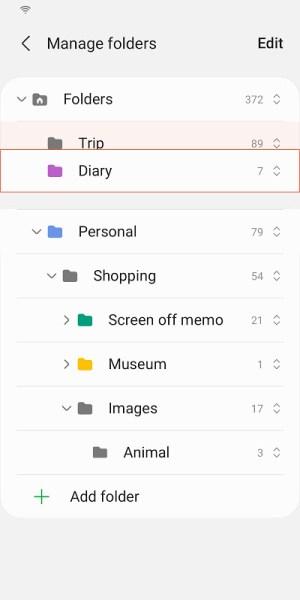 Samsung Notes 4.2.06.11 Screen 5