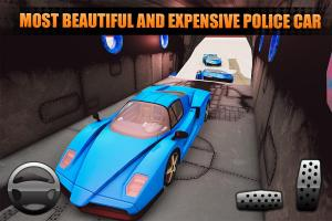 US Police City Car Transport Truck 3D 1.0 Screen 1