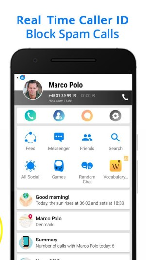 Android Messenger for Messages, Text and Video Chat Screen 1