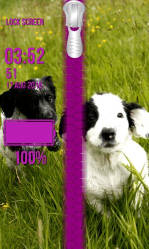 Puppy Zipper Lock Screen 1.2 Screen 5