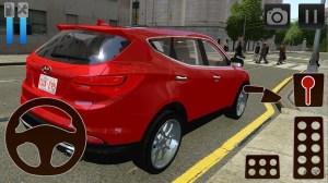 Android Car Driving Simulator Hyundai Screen 2
