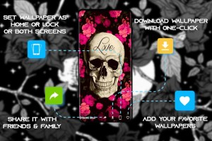 Android Skull Wallpapers and Backgrounds Screen 4