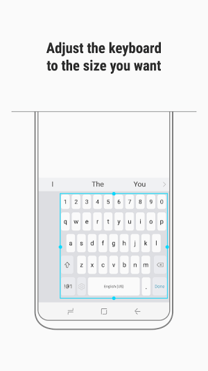 Samsung Keyboard 3.2.10.22 Screen 3