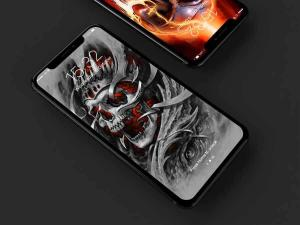 Android Skull Wallpapers and Backgrounds Screen 8
