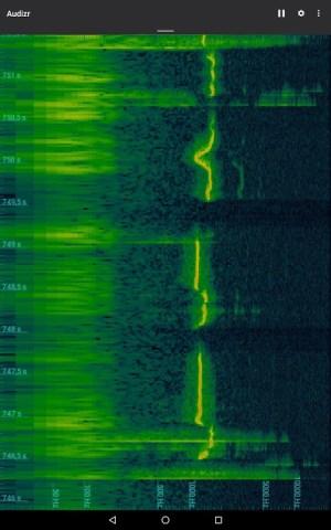 Audizr - Spectrum Analyzer 0.9.8 Screen 3