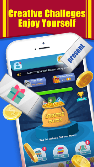 Coin Digger - Money Cube 1.1.4 Screen 1
