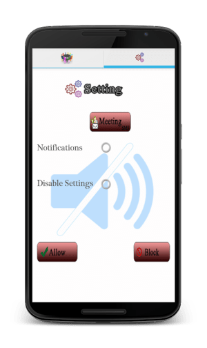 Android Silent Mode Screen 2