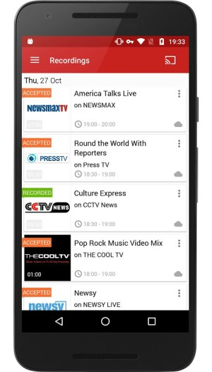 Android FilmOn Free Live TV Screen 2