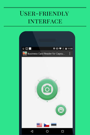 Capsule CRM Business Card Reader 1.1.145c Screen 3