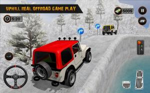 Android Offroad Jeep Driving Pro Master :uphill Jeep Drive Screen 6