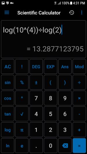 NT Calculator - Extensive Calculator Pro 3.8 Screen 2