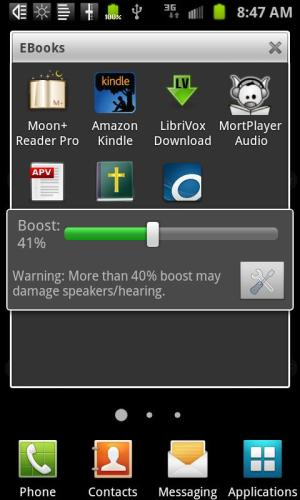 Speaker Boost 2.01 Screen 1