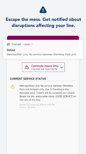 Transit - Live Transport App 5.2.18 Screen 4