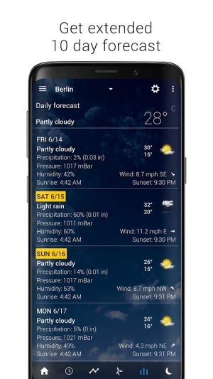 Transparent clock weather Pro 4.0.1.2 Screen 1