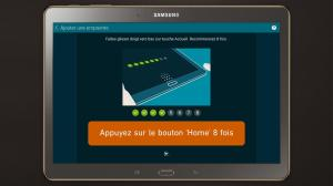 Android GALAXY Tab S Expérience Screen 5